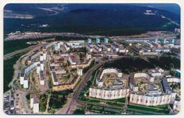 RUSSIA - RUSSIE - RUSSLAND DUMMY PHONECARD TELECARTE YAKUTIA SAKHA TELECOM 50 UNITS TOWN VIEW - Russia
