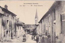 CPA - La Lorraine Pittoresque - Jezainville - (54) Meurthe Et Moselle - Rue De Chavetrée - France