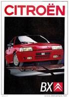 Citroen BX,catalogue 10 Pages 1990 , Format A4 - Advertising
