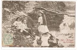 K 1816 VERY OLD ( 1904 )  FANTASY  POSTCARD  , CHILDREN - Sin Clasificación