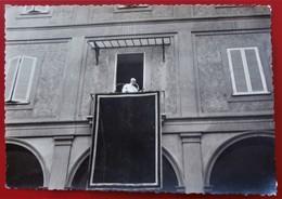 Photo ROME VATICAN CASTEL GANDOLFO Pape PIE XII 1956 - Célébrités