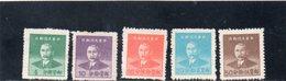 CHINE 1949 SANS GOMME - 1912-1949 Repubblica
