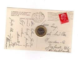 P0186 STORIA POSTALE REGNO IMPERIALE C. 75 ISOLATO PER ESTERO - Storia Postale