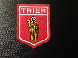 Blason écusson Tissu Feutrine Trier Trèves Wappen Coat Of Arms - Patches