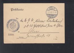 Pk Dt. K. Oberpost-Direktion Köln 1908 - Deutschland
