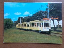 Toeristisch Tramstel Van De Belgische Kustlijn +/- 1930 -> Onbeschreven - Belgium