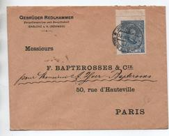 1920 - ENVELOPPE De GABLONZ A. N. BÖHMEN - Czechoslovakia