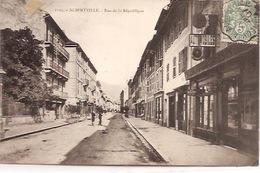 DV 76 ALBERTVILLE Rue De La République - Albertville