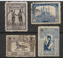 Turkey In Asia/Anatolia 1922, 4 Stamps - 1920-21 Anatolië