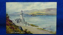 Cloch Lighthouse Gourock Scotland - Renfrewshire