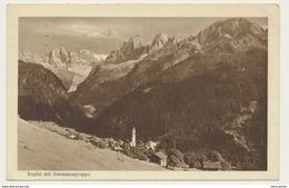 AK  Soglio Mit Bondascagruppe 1925 - GR Grisons