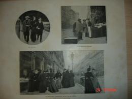 Lamina-Paris-1900--1,Paris Qui Dejeune - Ancianas (antes De 1900)