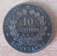France - Monnaie 10 Centimes Cérès 1893 A - Achat Immédiat - D. 10 Centimes
