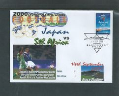 Olympics 2000 - Soccer - Football - AUSTRALIA - FDC Cover - Ete 2000: Sydney
