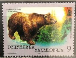 Macedonia, 2003, Mi: 281 (MNH) - Osos