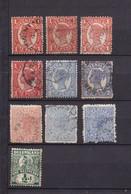 AUSTRALIE - QUEENSLAND - Lot 10 Timbres - 1860-1909 Queensland