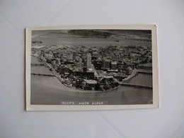 Postcard Postal Brasil Recife Vista Aerea - Recife