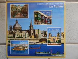 F 5125 De 2017 Capitales Européennes La Valette - Neufs