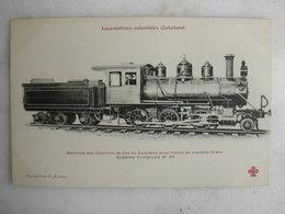FERROVIAIRE - Locomotive - Coll. F. Fleury - ZULULAND - Machine Compound Pour Trains De Marchandises - Trains
