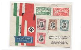 Jubiläumsbrief Mit Führerstempel 1938 Nach Germany - Briefe U. Dokumente