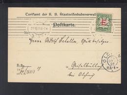Bayern PK Tarifamt Der KB Staatseisenbahnverwaltung 1908 - Bayern