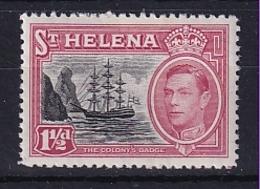 St Helena: 1949   KGVI     SG150    1½d       MH - Isola Di Sant'Elena