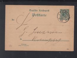 Dt. Reich GSK 1892 Ostpreussen Tapiau Gwardeisk - Deutschland