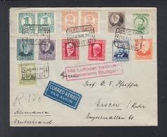 Carta Barcelona 1934 Correo Aereo - 1931-50 Lettres