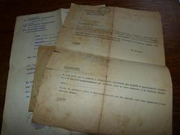 Documents WW2 Deutsche Werbestelle Office D'embauchage Allemand à La Louvière 1943 Pers. De Soignies - Autres