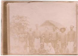 Commandant Marchand C.1898  Militaire Armée D Afrique  Tirailleur Femme - Photo Originale - Guerre, Militaire