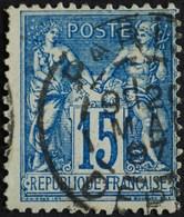 -Sage N°101Type Ll.(CAD) O .PARIS  DEPART 20 MAI 1897. - 1876-1898 Sage (Type II)
