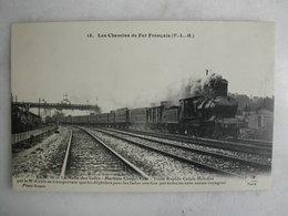 FERROVIAIRE - Locomotive - Coll. F. Fleury - P.L.M. - Le M.71 - La Malle Des Indes - Machine Coupe Vent Calais-Brindisi - Trains