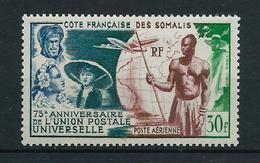 COTE DES SOMALIS 1949 . Poste Aérienne N° 23 . Neuf * (MH) . - Neufs