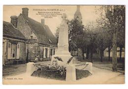 TREMBLAY LE CICOMTE  MONUMENT ELEVE A LA MEMOIRE DES ENFANTS MORTS POUR LA FRANCE - Otros Municipios