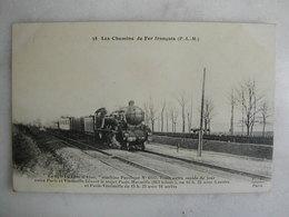 FERROVIAIRE - Locomotive - Coll. F. Fleury - P.L.M. - Le 15 - La Côte D'Azur - Machine Pacifique - Paris / Vintimille - Trains
