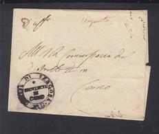 Lettera Como 1846 - 1. ...-1850 Vorphilatelie