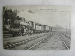 FERROVIAIRE - Locomotive - Coll. F. Fleury - P.L.M. - Le 524 Express Venise Rome Milan Turin Paris Et Simplon - Trains