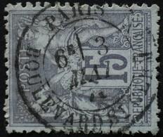 -Sage N°77 Type Ll.(CAD) O . - 1876-1898 Sage (Type II)