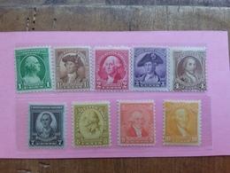 STATI UNITI 1920/25 - Nuovi ** - Incompleta + Spese Postali - United States