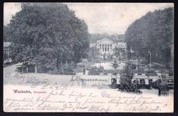 *** WIESBADEN - KURGARTEN  ***  ! Nach Belgien Geschickt 1898 ! TRAM - Wiesbaden