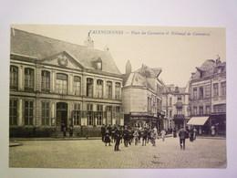 GP 2020 - 2393  VALENCIENNES  (Nord)  :  Place Du Commerce Et Tribunal De Commerce   XXX - Valenciennes