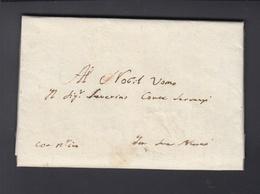 Lettera 1629 - 1. ...-1850 Vorphilatelie