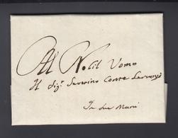 Lettera 1629 (2) - 1. ...-1850 Vorphilatelie