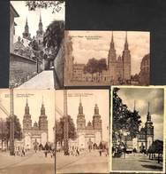 Eupen - Lot 5 Cartes Sélectionnées Eglise St Nicolas (petit Prix Fixe à Saisir) - Eupen