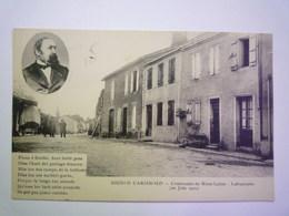 GP 2020 - 2398  LAFRANCAISE  (Tarn-et-Garonne)  :  ESCOLO CARSINOLO  -  Centenaire De MARY-LAFON   XXX - Lafrancaise