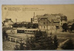 Camp Elsenborn // Vue Generale D Entree Du Camp Avec Train 19?? - Elsenborn (camp)