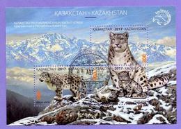 Kazakhstan. 2017.  Snow Leopards. Panthera Uncia. Leopard. Used - Kazakhstan