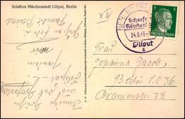 1943, BERLIN-TREPTOW; Schaefers Märchenstadt Liliput - Allemagne