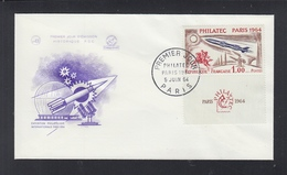 France FDC 1964 - FDC