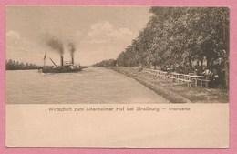67 - STRASSBURG - STRASBOURG - NEUHOF - Wirtschaft Zum Altenheimer Hof - Rheinpartie - Bord Du Rhin - Strasbourg